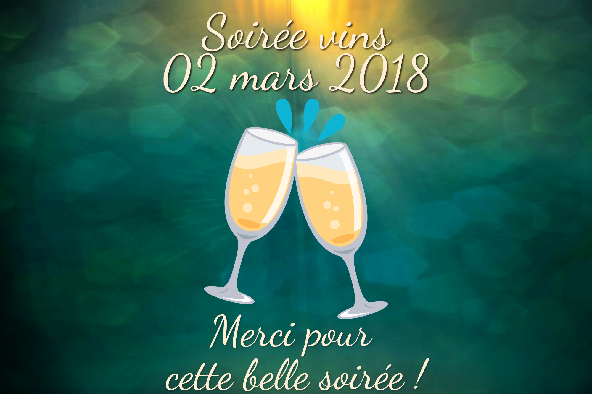 Dégustation de vins du 2 mars : une belle soirée !
